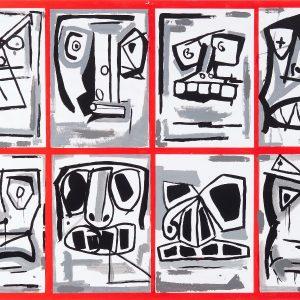 Crazy Faces artwork image