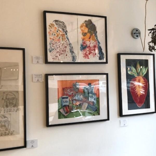 Display at Stir, Woolwich