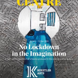 No Lockdown in the Imagination installation poster