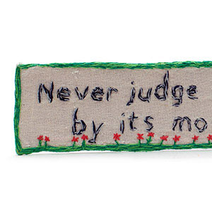 Never Judge a Book By Its Movie, HMP & YOI Ashfield, Craft 2015