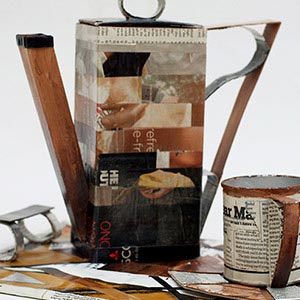 Relax - It's Coffee Time, HMP Bure, Bronze Award for Recycling or Papier Mache 2015