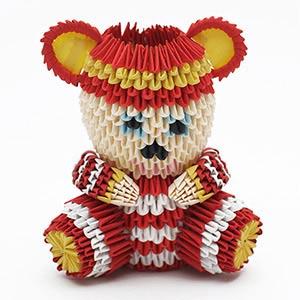 Small Paper Teddy Bear, HMP Stafford, Craft 2015