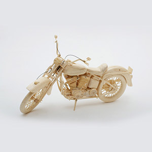Harley, HMP Whatton, Gold Award for Matchstick Models 2015