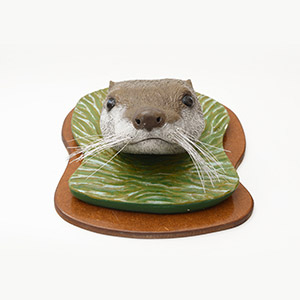 The Curious Otter, HMP Full Sutton, Gold Award for Ceramics 2015