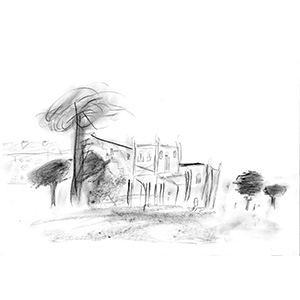 Yorkshire Church, HMP Dumfries, Gold Award for Drawing 2015