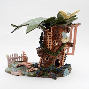 Fairy Tree, HMP & YOI Holloway, Gold Award for Ceramics 2015
