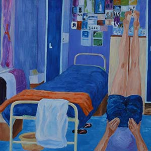 Morning Has Broken/Rise and Shine, HMP & YOI Holloway, Gold Award for Painting 2015