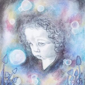The Inner Child, Koestler Arts Mentoring Scheme, Portrait, Marie Louise von Motesiczky Scholarship Award 2019