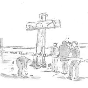 Crucifix Crime Scene