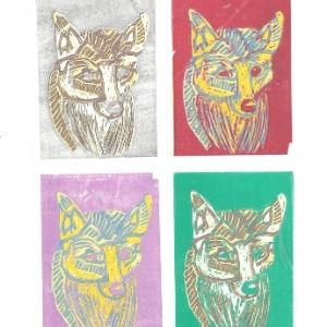 The Four Foxes – 20K5283