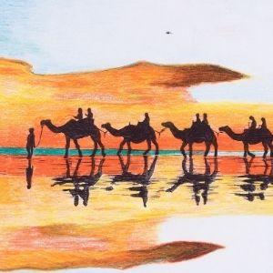 The Camel Train – 20K4023
